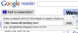 Add Subscription